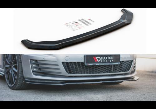 Maxton Design Front Splitter V.2 for Volkswagen Golf 7 GTI / GTD