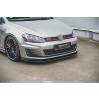 RACING DURABILITY Front Splitter for Volkswagen Golf 7 GTI / GTD