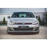 RACING DURABILITY Front Splitter voor Volkswagen Golf 7 GTI / GTD