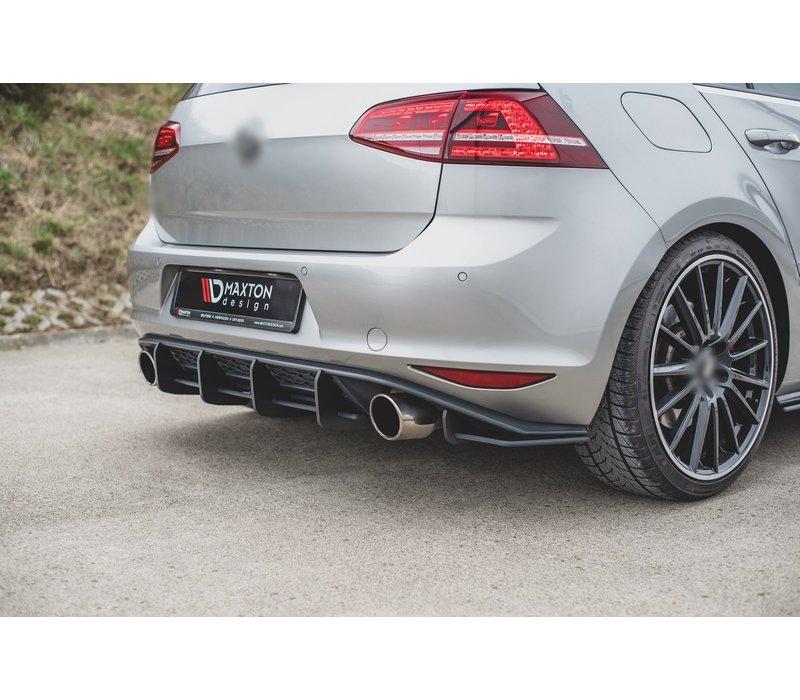 RACING DURABILITY Aggressive Diffuser V.1 voor Volkswagen Golf 7 GTI