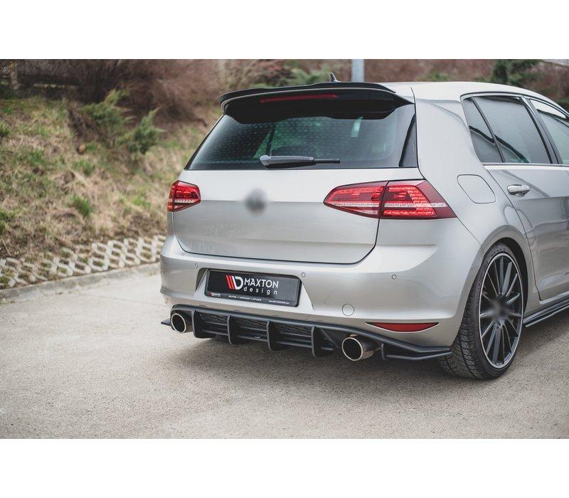 RACING DURABILITY Aggressive Diffusor V.1 für Volkswagen Golf 7 GTI