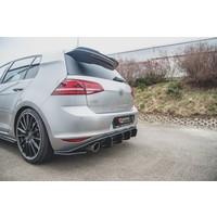 RACING DURABILITY Aggressive Diffuser V.2 voor Volkswagen Golf 7 GTI