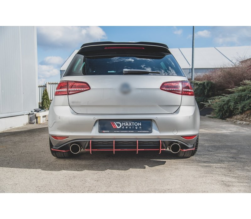 RACING DURABILITY Aggressive Diffuser V.2 for Volkswagen Golf 7 GTI