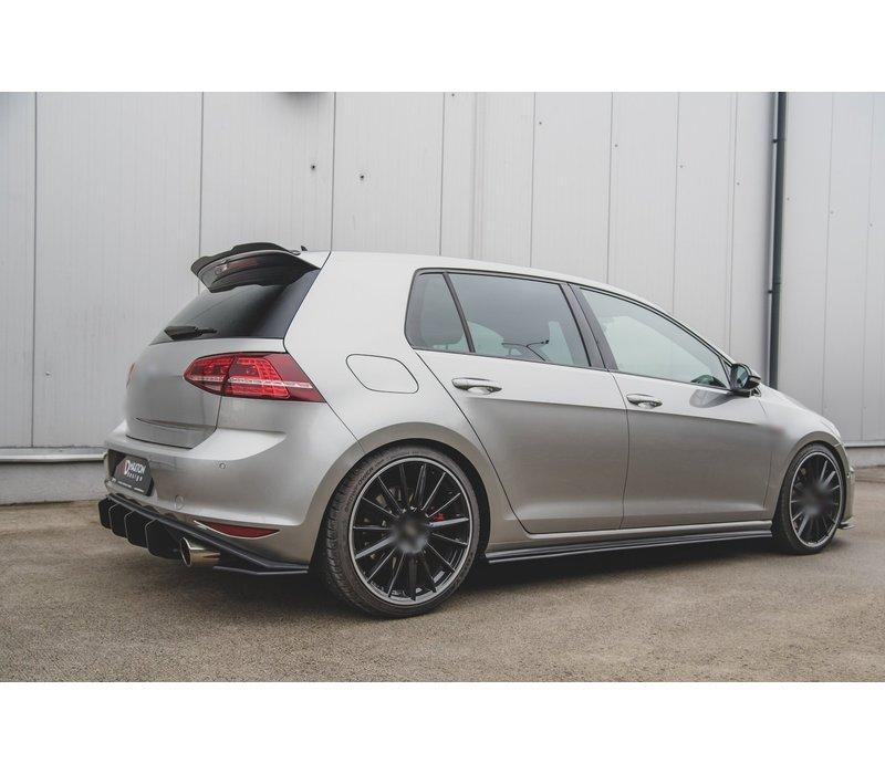 RACING DURABILITY Seitenschweller Diffusor für Volkswagen Golf 7 GTI / GTD