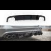 Maxton Design Aggressive Diffuser voor Audi A6 C7.5 Facelift S line / S6