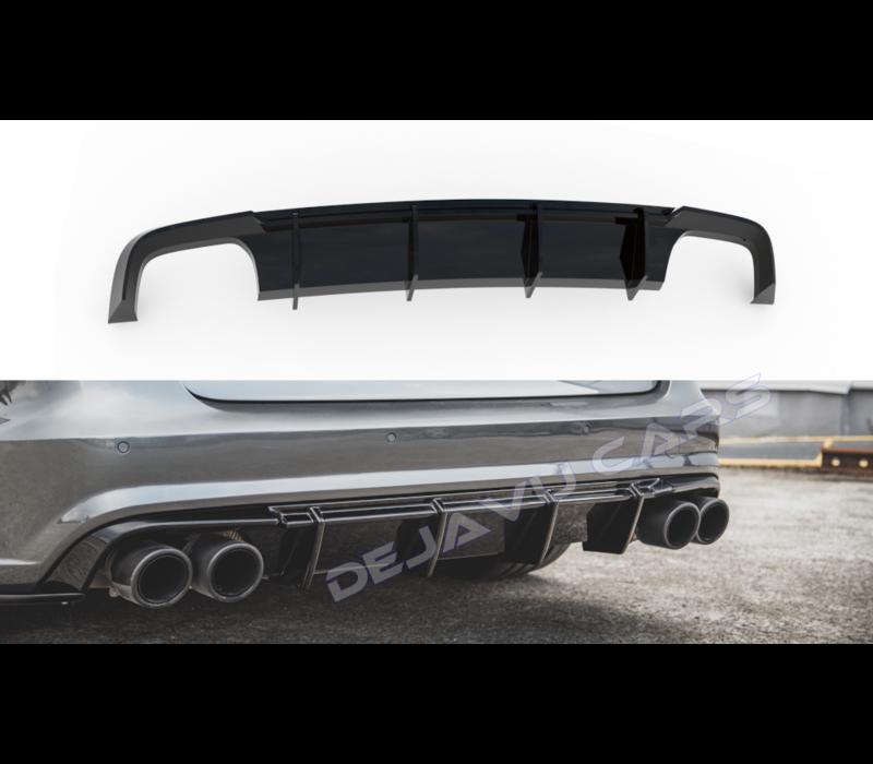 Aggressive Diffuser for Audi A6 C7.5 Facelift S line / S6