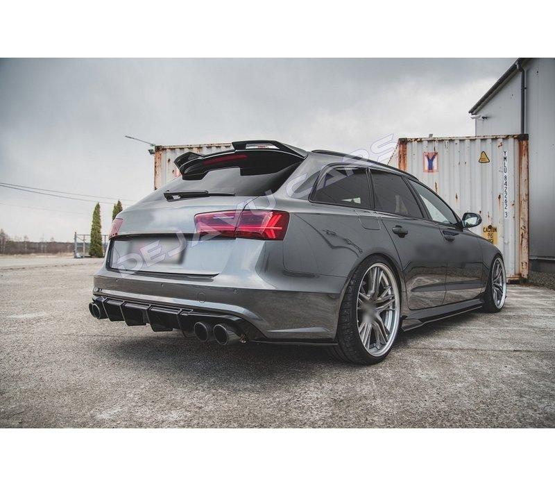Aggressive Diffuser voor Audi A6 C7.5 Facelift S line / S6