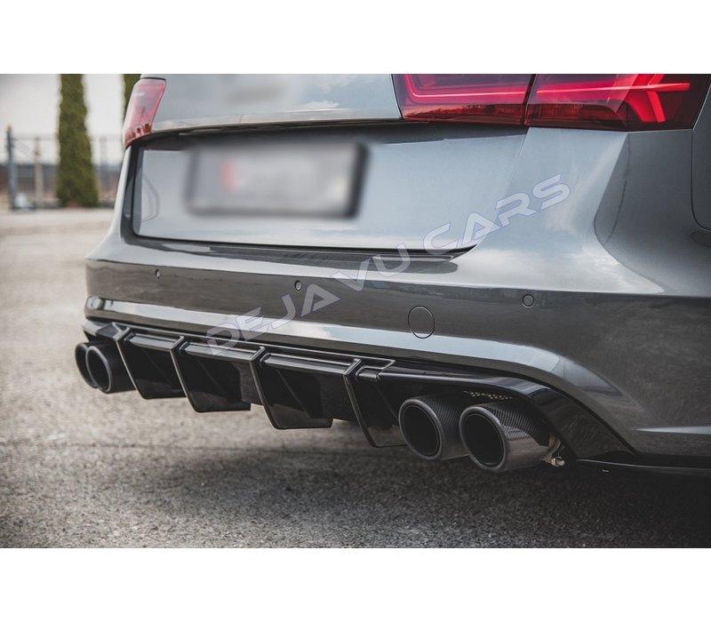 Aggressive Diffusor für Audi A6 C7.5 Facelift S line / S6