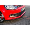 Maxton Design Front Splitter for Volkswagen Polo 6R GTI
