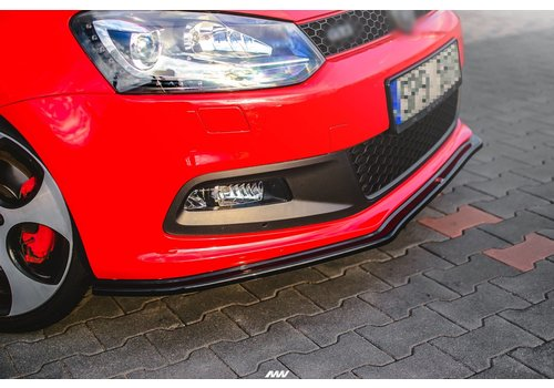 Maxton Design Front Splitter for Volkswagen Polo 6R GTI