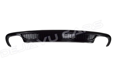 OEM LINE S line Look Diffuser Black Edition for Audi A4 B8