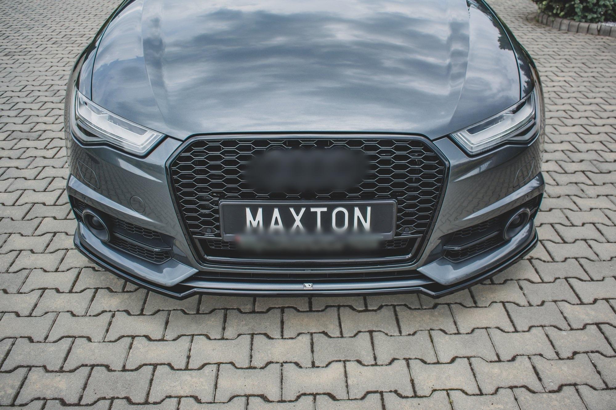 Front Splitter For Audi A6 C7 5 Facelift S Line S6 Www Dejavucars Eu