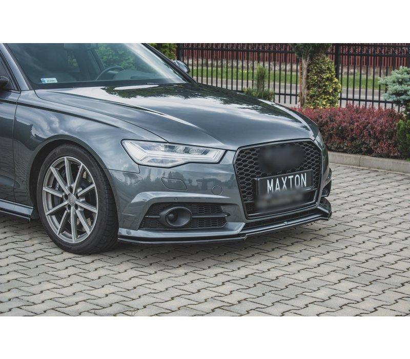 Front splitter for Audi A6 C7.5 Facelift S line / S6
