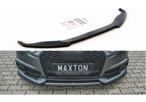 Maxton Design Front splitter for Audi A6 C7.5 Facelift S line / S6