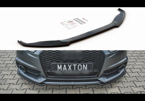 Maxton Design Front splitter voor Audi A6 C7.5 Facelift S line / S6