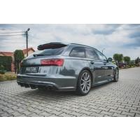 Seitenschweller Diffusor für Audi A6 C7.5 Facelift S line / S6