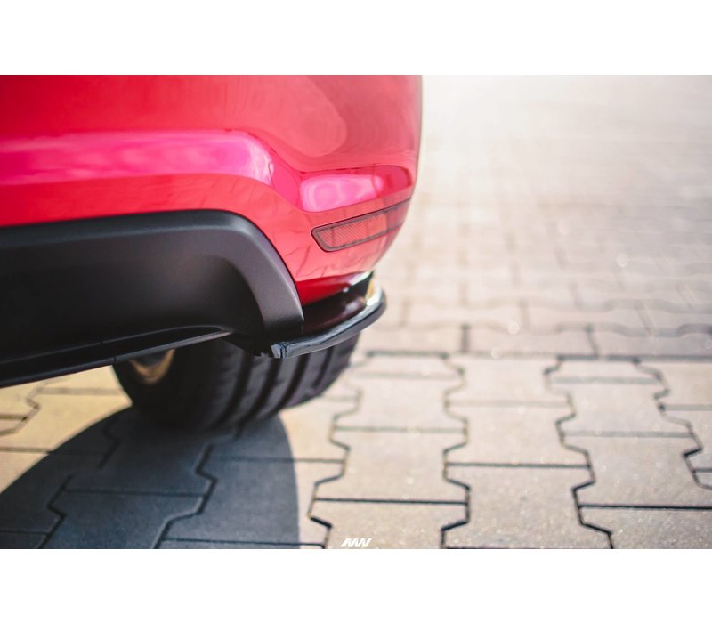 Rear Splitter for Volkswagen Polo 6R GTI