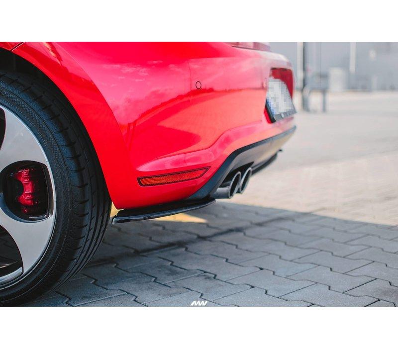 Rear Splitter voor Volkswagen Polo 6R GTI