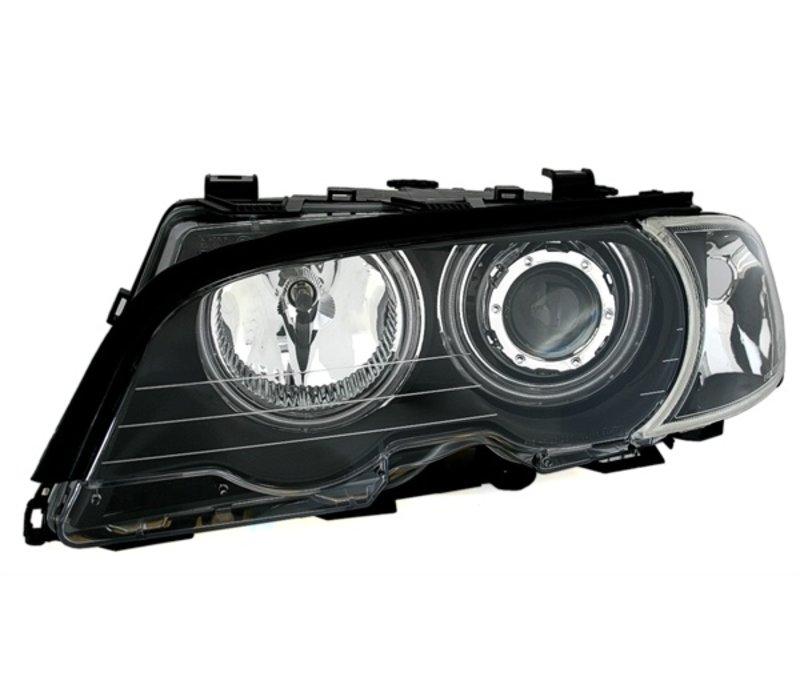 Xenon Look Koplampen met CCFL Angel Eyes voor BMW 3 Serie E46