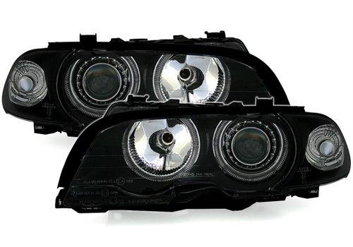 DEPO Xenon look Scheinwerfer mit Angel Eyes für BMW 3 Serie E46