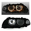 DEPO D2S Xenon Headlights with Angel Eyes for BMW 3 Series E46