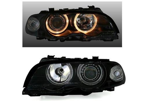 DEPO D2S Xenon Koplampen met Angel Eyes voor BMW 3 Serie E46
