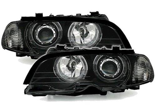 Eagle Eyes Xenon Look Koplampen met LED Angel Eyes voor BMW 3 Serie E46