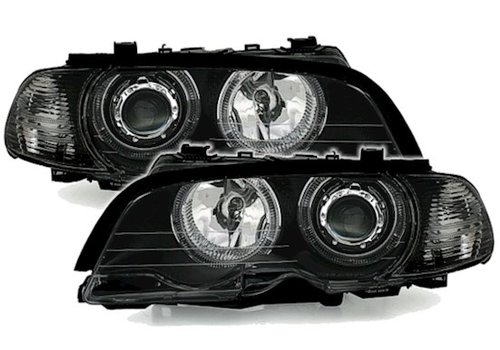 Eagle Eyes Xenon look Scheinwerfer mit LED Angel Eyes für BMW 3 Serie E46