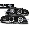 Eagle Eyes Xenon look Headlights with Angel Eyes for BMW 3 Series E46