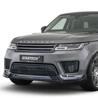 Frontelement with Carbon spoiler lip for Range Rover Sport 2018