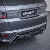 Rear Bumper with Carbon diffuser for Range Rover Sport 2018