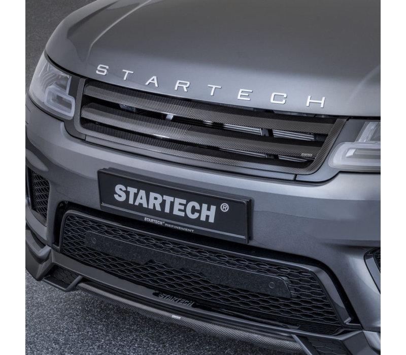 Carbon Front Grill voor Range Rover Sport 2018