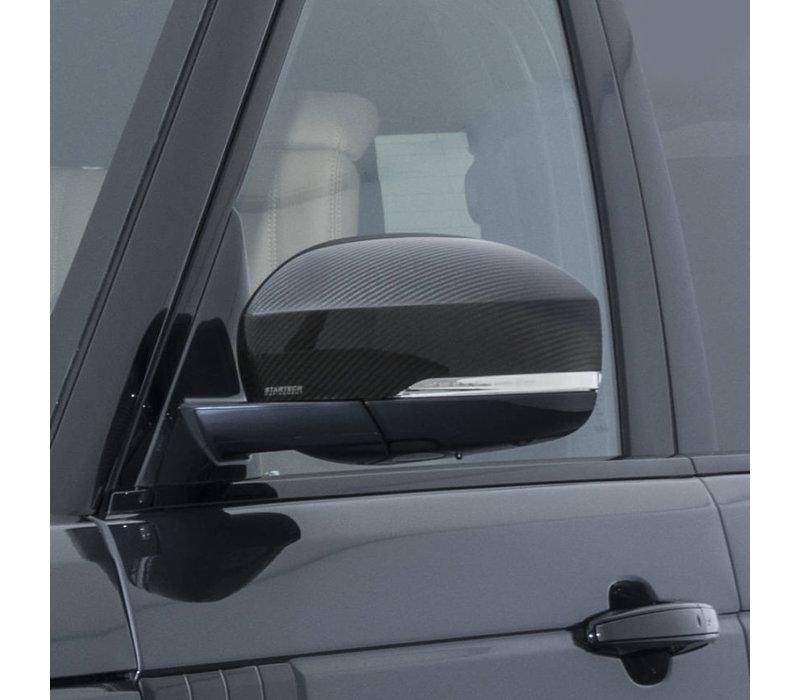 Carbon Spiegelkappen voor Range Rover