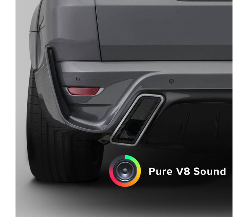 SoundXtra Sport Exhaust - V8 Sound  for Range Rover Sport 2018