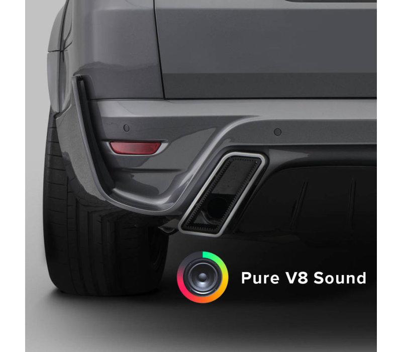 SoundXtra Sport Exhaust - V8 Sound voor Range Rover Sport 2018