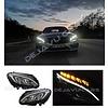 DEPO Bi Xenon Look LED Headlights for Mercedes Benz C-Class W205