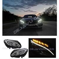 Bi Xenon Look LED Scheinwerfer für Mercedes Benz C-Klasse W205