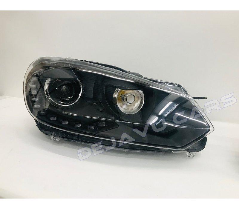 R20 Xenon Look LED Scheinwerfer für Volkswagen Golf 6