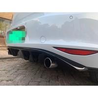 GTI Look V2 Diffuser for Volkswagen Golf 7