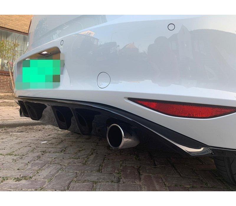 Facelift GTI Look Diffusor für Volkswagen Golf 7
