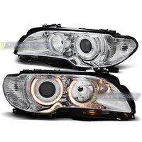 Xenon look Headlights with Angel Eyes for BMW 3 Series E46