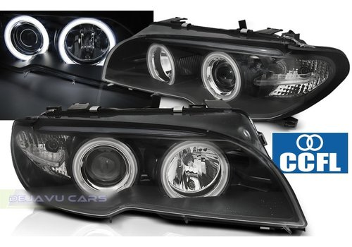 DEPO Xenon look Headlights with CCFL Angel Eyes for BMW 3 Series E46