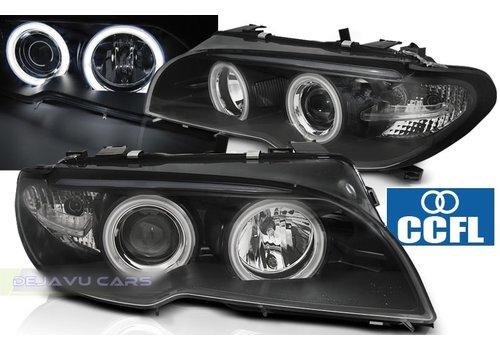 DEPO Xenon Look Koplampen met CCFL Angel Eyes voor BMW 3 Serie E46