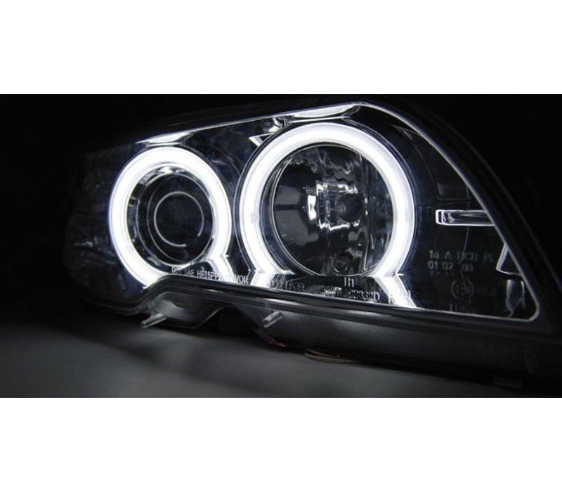 D2S Xenon Scheinwerfer mit CCFL Angel Eyes für BMW 3 Serie E46