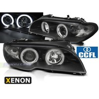 D2S Xenon Koplampen met CCFL Angel Eyes voor BMW 3 Serie E46