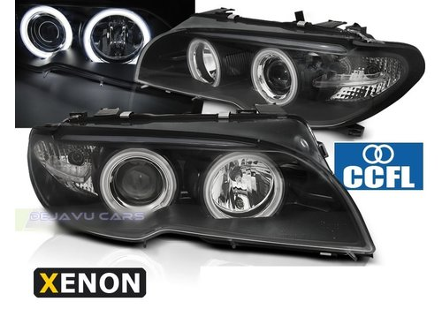 DEPO D2S Xenon Headlights with CCFL Angel Eyes for BMW 3 Series E46