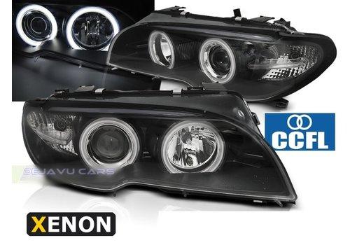 DEPO D2S Xenon Koplampen met CCFL Angel Eyes voor BMW 3 Serie E46