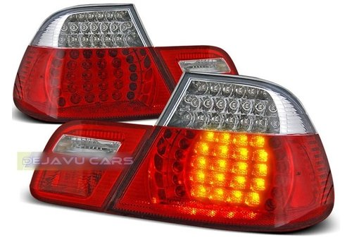 OEM LINE LED Tail lights for BMW 3 Series E46 Coupe