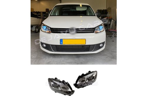 DEPO Bi Xenon Look LED Headlights for Volkswagen Caddy