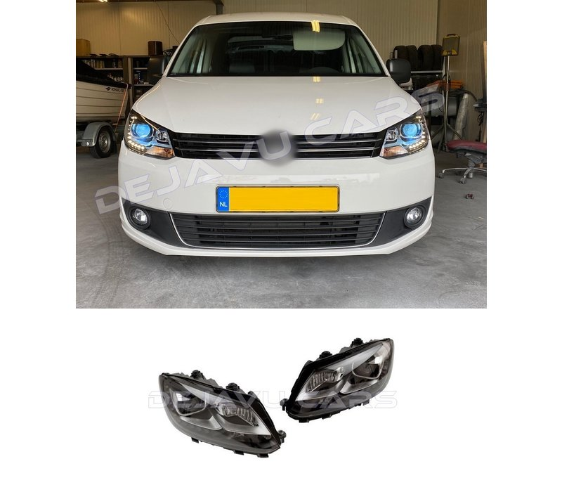 Bi Xenon Look LED Headlights for Volkswagen Caddy